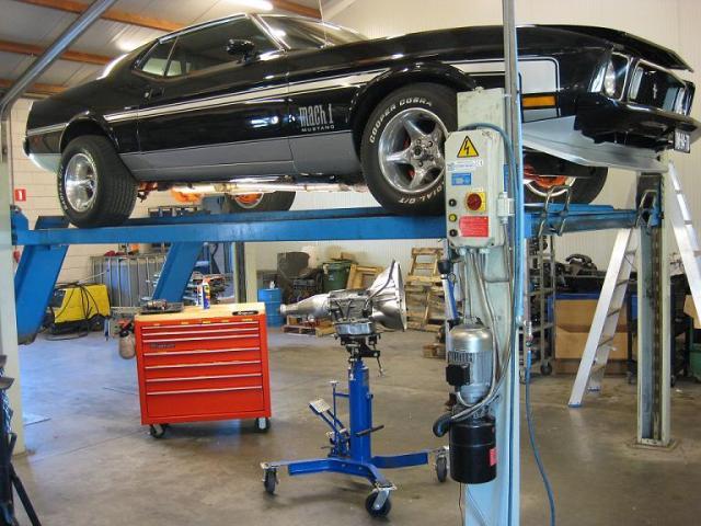 Ford Mustang Mach1 met een FMX automaat