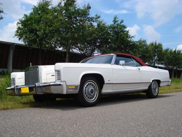 Unieke Lincoln Cabriolet met C6 automaat